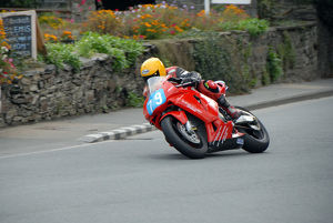 Dave Moffitt (Honda) 2009 Junior Manx Grand Prix