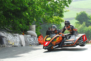 Dave Molyneux and Patrick Farrance (DMR) 2012 Sidecar TT