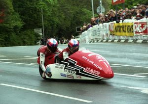 Dave Molyneux & Peter Hill (DMR) 1996 Sidecar TT