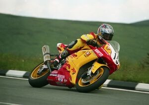 David Jefferies at the Bungalow; 1999 Formula One TT