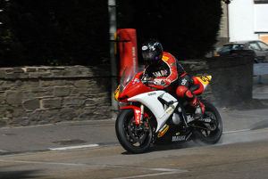 David Jukes (Yamaha) 2009 Senior Manx Grand Prix