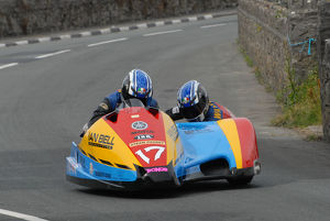 David Little & Lee Watson (DMR Yamaha) 2009 Southern 100