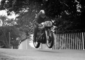 David Williams (Norton) 1960 Senior Manx Grand Prix