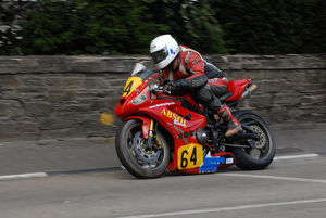 Derek Sheils (Triumph) 2009 Senior Manx Grand Prix