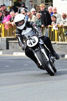 Ernie Washer (Norton) 2013 Classic Lap Manx Grand Prix