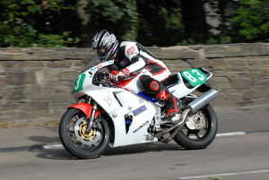 Frank Biggelaar (Honda) 2009 Ultra Lightweight Manx Grand Prix