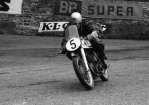 Frank Cope (Norton) 1956 Lightweight TT