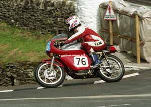 Frank Higginson (Ducati) 1996 Junior Classic Manx Grand Prix