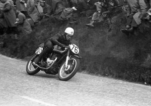 Fred Cook (Matchless) 1956 Senior TT