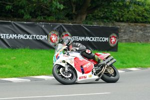 Gavin Brown (Honda) 2015 Lightweight Manx Grand Prix