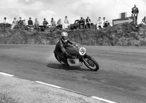 Geoff Morgan (Matchless) 1967 Senior Manx Grand Prix
