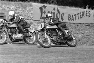Geoff Tanner (Norton) 1955 Senior Manx Grand Prix