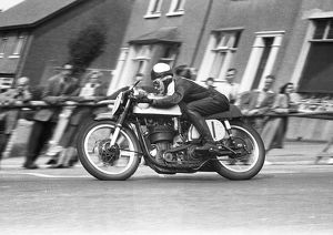 Geoff Tanner (Norton) Senior Manx Grand Prix