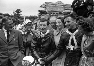 George Costain & Derek Powell 1954 Senior Manx Grand Prix