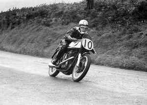 George Costain (Norton) 1954 Senior Manx Grand Prix
