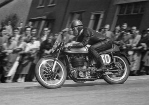 George Leigh (Norton) 1955 Senior TT