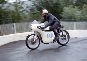 George Cant (Norton) 1967 Junior Manx Grand Prix