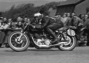 George Salt (Matchless) 1955 Senior TT