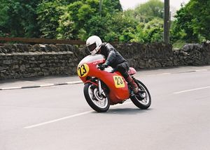 Harold Bromiley (Cowles Matchless) 2004 Pre TT Classic