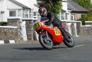 Harold Bromiley (Cowles Matchless) 2009 Pre TT Classic