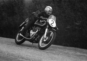 Harry Pearce (Matchless) 1955 Senior TT