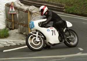 Herb Robinson (Seeley 7R) 1996 Junior Classic Manx Grand Prix