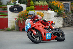 Iain Hill (Honda) 2009 Junior Manx Grand Prix