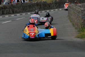 Ian Bell & Carl Bell (LCR Yamaha) 2009 Southern 100