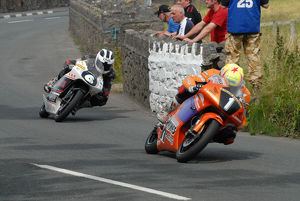 Ian Lougher (Jackson spl) and William Dunlop (Honda) 2009 Southe