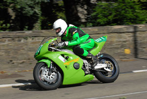 Ian Rycroft (Kawasaki) 2009 Ultra Lightweight Manx Grand Prix