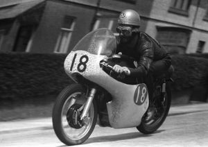Jack Ahearn (AJS) 1958 Junior TT