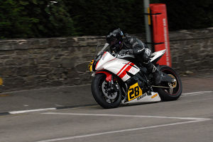James Shipley (Yamaha) 2009 Senior Manx Grand Prix