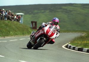 Jim Moodie at the Bungalow; 1998 Production TT