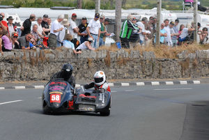 John Chandler & Dicky Gale (Windle Honda) 2014 Southern 100