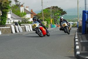 John A Jones (Matchless G50) leads Keith Shannon (Seeley) 2014 P