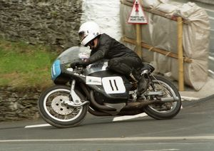 John Loder (Greeves) 1996 Junior Classic Manx Grand Prix