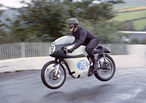 John Sear (AJS) 1967 Junior Manx Grand Prix