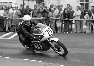 Johnathon Parkes (Matchless) 1975 Senior Manx Grand Prix