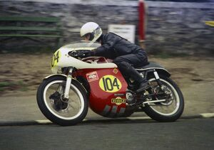 Johnathon Parkes (Matchless) 1976 Senior Manx Grand Prix