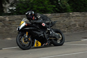 Jules Croft (Yamaha) 2009 Senior Manx Grand Prix