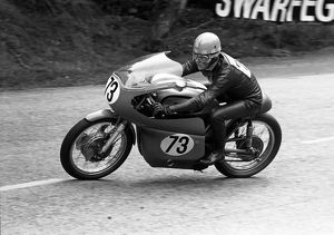 Keith Heckles (Norton) 1966 Senior Manx Grand Prix