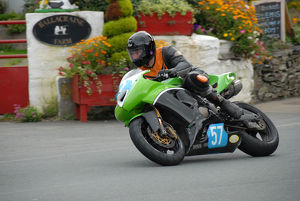 Keith McKay (Kawasaki) 2009 Junior Manx Grand Prix