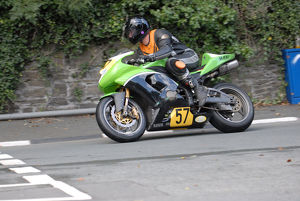 Keith McKay (Kawasaki) 2009 Senior Manx Grand Prix
