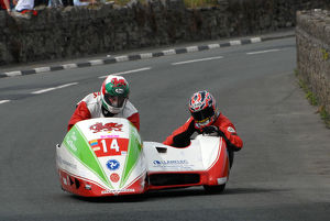 Keith Walters & Jamie Scarffe (Ireson) 2009 Southern 100