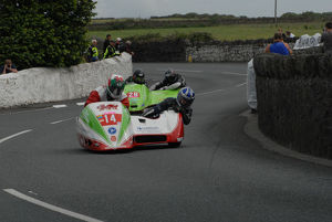 Keith Walters and Jamie Scarffe (Ireson) 2009 Southern 100