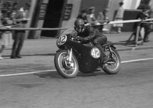 Ken James (AJS) 1959 Junior TT