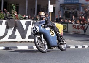 Lawrence Povey (Norton) 1966 Senior TT