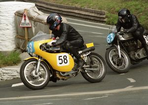 Len Clutterbuck (Seeley 7R) & Rob Wingrave (Norton) 1996 Junior