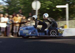 Malcolm White & Philip Oliver (Trifly Triumph) 1973 750 Sidecar