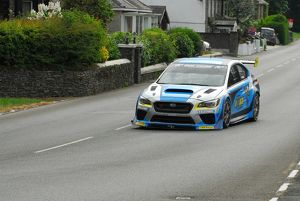 Mark Higgins (Subaru) TT Lap